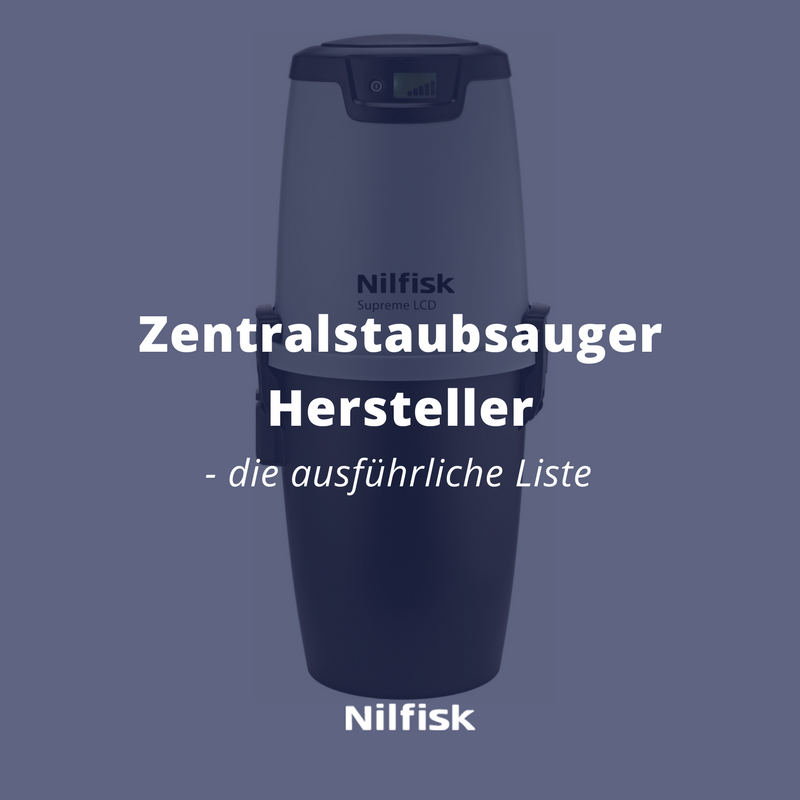 Zentralstaubsauger Hersteller Bzw Marken Nilfisk